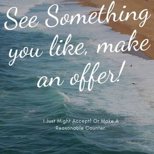 See Something You Like, Make An Offer
